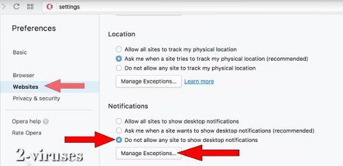 Cómo desactivar las Notificaciones Web Push