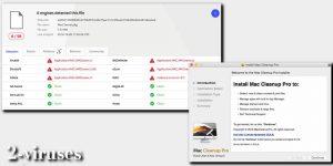 El virus Mac Cleanup Pro