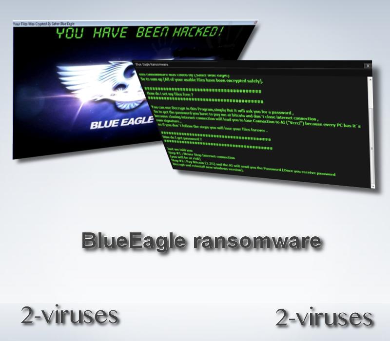 BlueEagle ransomware remove