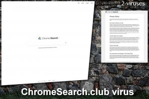 El virus ChromeSearch.club
