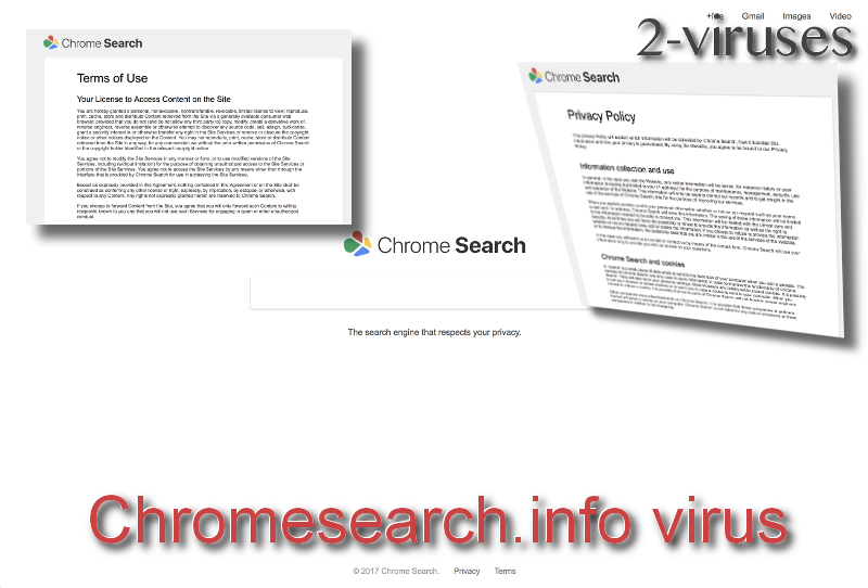 Chromesearch.info virus remove