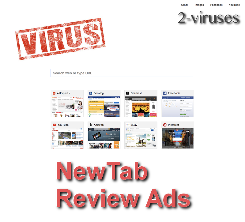 NewTab.Review ads remove