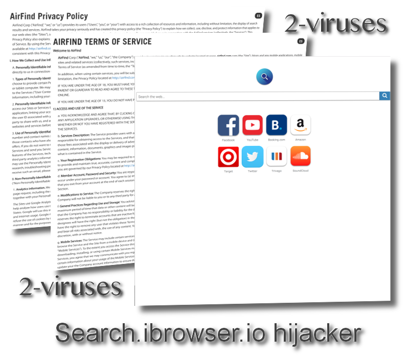 Search.ibrowser.io hijacker virus remove