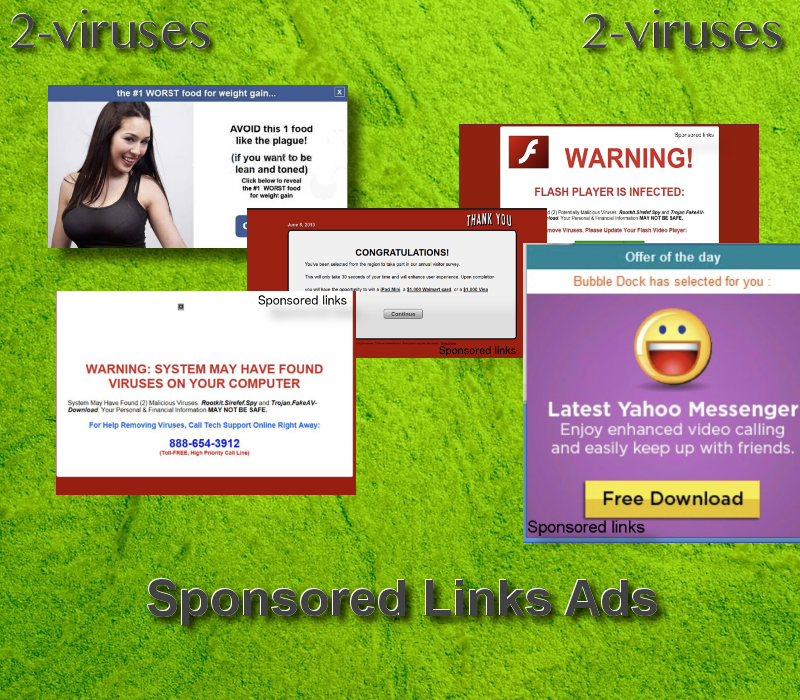 Sponsored links ads