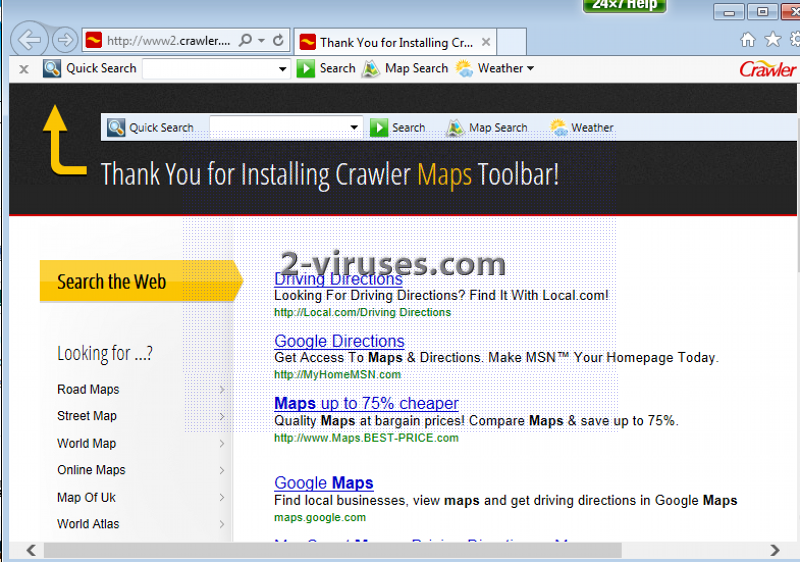 Crawler.com virus