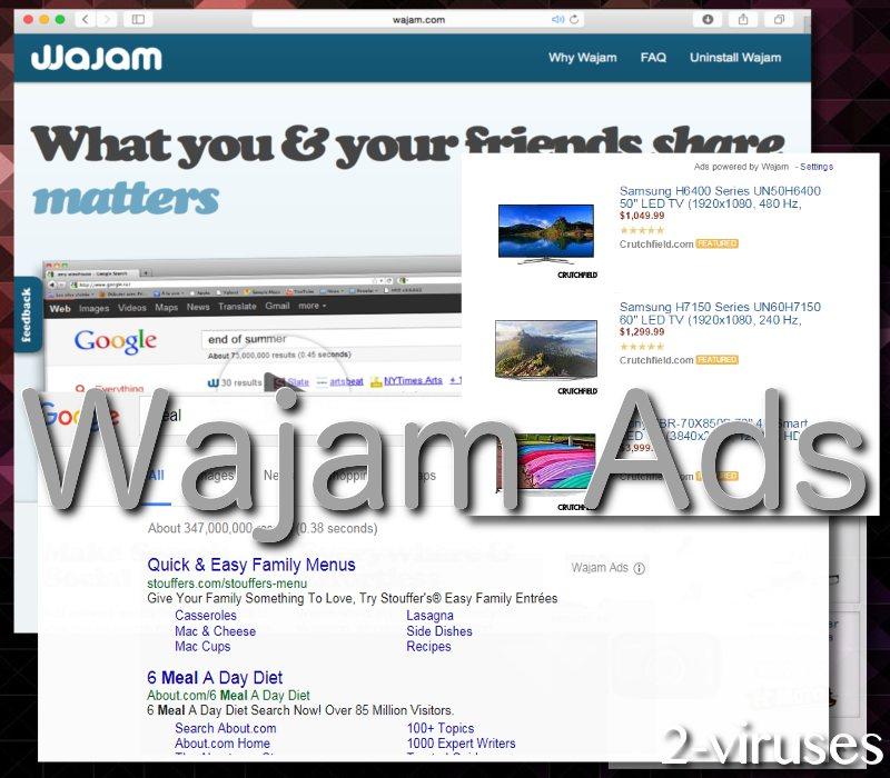 Wajam ads