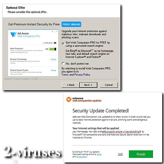 Web Companion - ¿Como eliminarlo? - malwarerid.com