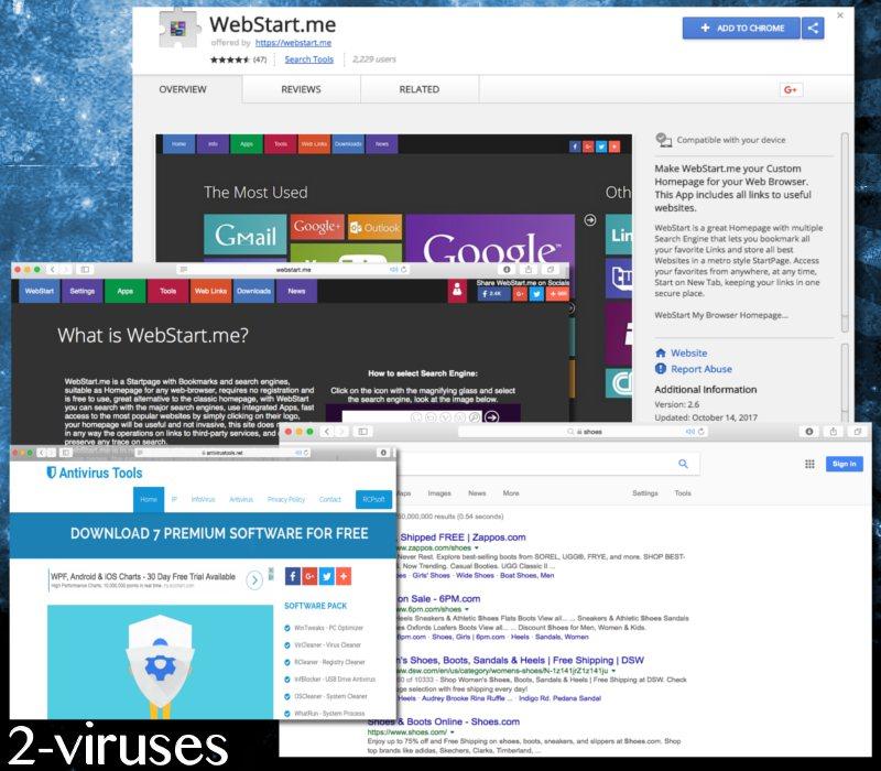 Webstart.me hijacker